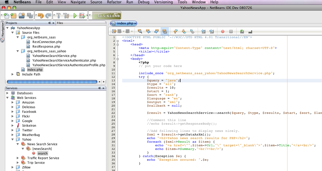 netbeans php